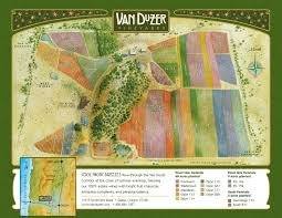 Oregon Road Map by Van Duzer Vineyard Map 11975 Smithfield Road Dallas Oregon 97338