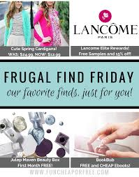 deals for mom cardigans e books free lancome samples