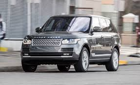 range rover back 2016 2016 range rover td6 diesel test u2013 review u2013 car and driver