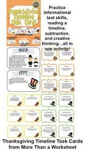 thanksgiving timeline worksheets happy thanksgiving