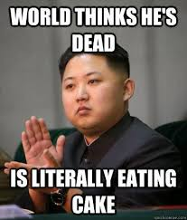 No Cake Meme - elegant no cake meme kim jong un the cake craver feafum the global