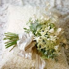 Bridal Bouquet Ideas A Lacy Bridal Bouquet Once Wed