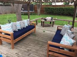 Patio And Outdoor Furniture White Outdoor 2x4 Sofas Diy Projects Outdoor Furniture