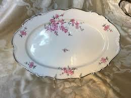 butterfly serving platter edelstein bavaria madame butterfly 15 serving platter platinum