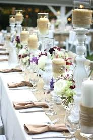 Wedding Table Ideas With Burlap Christmas Table Decorations With