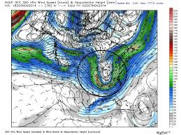 Jetstream Map How Typhoon Nuri Is Changing The Weather Forecast In North America