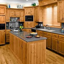 Solid Wood Kitchen Furniture Kitchen Cabinet Pine Wood