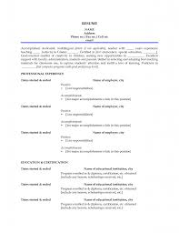 Sample Resume Format For Experienced Teachers by Sample Resume Format For Lecturer Job Free Resume Example And