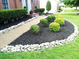 decorative landscaping with rocks for a natural house traba homes