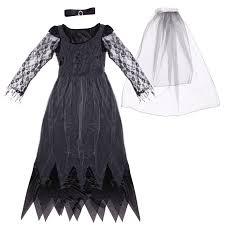 black corpse bride costume ladies zombie witch vampire hen night