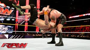 john cena u0026 sting vs big show u0026 seth rollins raw sept 14 2015