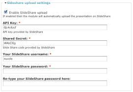 slideshare api slideshare api integration 370416 drupal org