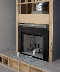 can you have a masonry firebox and metal stove pipe