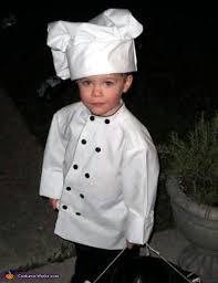 chef costume chef baby costume