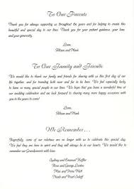 thank yous on wedding programs sle wedding program thank you wedding program