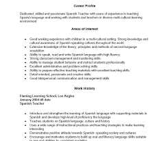 teacher sample resume science resume help aaaaeroincus surprising