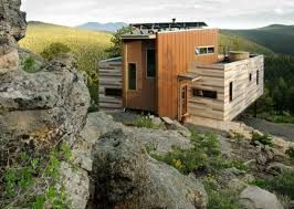a solar powered shipping container house in colorado apartment