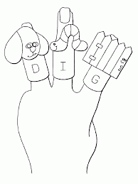 puppet coloring page coloring home