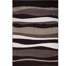 Orange Area Rug With White Swirls 8 X 10 Rectangle Area Rugs Rugs The Home Depot