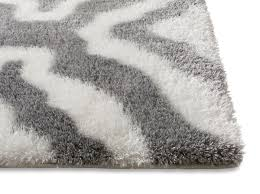 jesse trellis white plush shag rug well woven