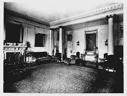 plate 126 no 10 downing street entrance hall and drawing room