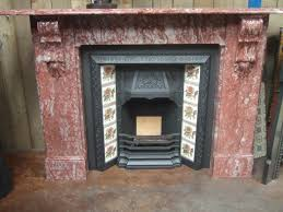 antique marble fireplace surround despite the historical nature