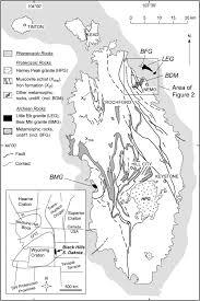 South Dakota Time Zone Map by 2480 Ma Mafic Magmatism In The Northern Black Hills South Dakota