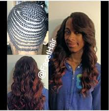 best way to sew in a weave for long hair full head sew in weave with edges and part left out weaves