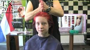 theo knoop new hair today ashley and her new flaming red color by theo knoop 2012 youtube
