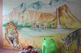 fresque murale chambre peintre décorateur en lorraine peintures fresques murales