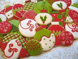 19 best round christmas cookies images on pinterest decorated