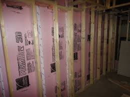 insulating basement walls with foam board basements ideas