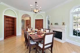 pareti sala da pranzo sala da pranzo con le pareti verdi fotografia stock immagine di