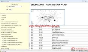 100 mitsubishi galant workshop engine electrical manual