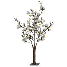 white faux japanese magnolia tree 4 5 ft 135 aud liked on