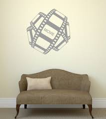 online get cheap design walle stickers aliexpress alibaba group fashion movie filmstrip design wall sticker poster home entertainment cinema film picture decals ball shape