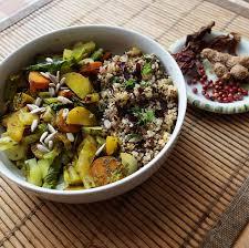 cuisiner poireaux poele recette diététique étouffé de poireaux et duo de quinoa