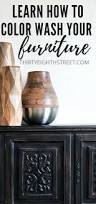 Wood Furniture Paint Colors How To Beautify Your Furniture Using A Paint Color Wash Thirty