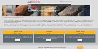 new safety climate assessment s cat website cpwr