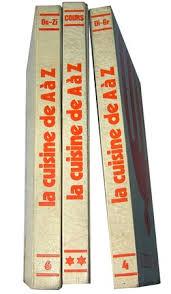 cuisines de a à z lot de 3 livres cuisine de a à z la table de janinette
