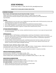 exle for resume teaching resume exles starua xyz
