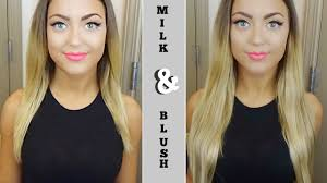 hair extension reviews milk blush hair extension unboxing review