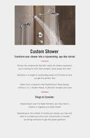 your shower experience shower design buying guide delta faucet