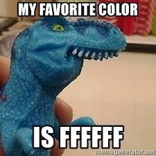 f dinosaur meme generator