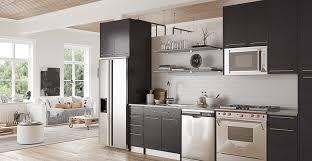 op15 m12 modern grey matte melamine kitchen cabinet