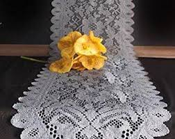 Gold Lace Table Runner Lace Table Runner Etsy