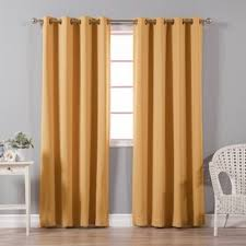Orange And Brown Curtains Orange Curtains Drapes You Ll Wayfair