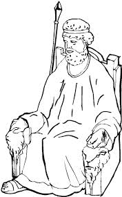 The Throne Of King Samuel Coloring Page Netart Samuel Coloring Pages