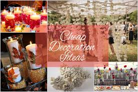 cheap wedding ideas cheap wedding decoration ideas for your big empty space