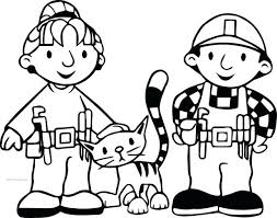 coloring pages bob builder coloring pages bob